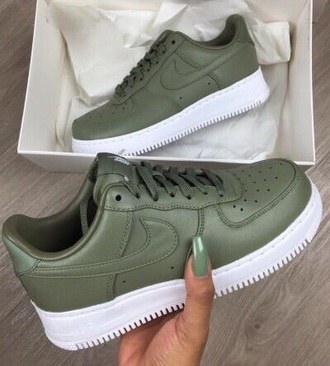 shoes nike nike shoes nike sneakers army green olive green green air max khaki nike air force sneakers nike air force 1 navy green nike air khaki air force low top air forces army green ? white customized cold. $$$$ army green nike sportswear platform shoes running shoes khaki sneakers earth tone
