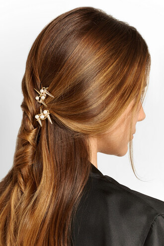 hair accessory pearl spikes hairstyles wedding hairstyles