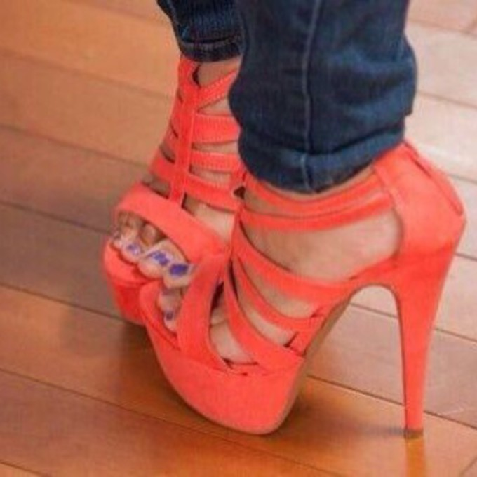 the best heels coral wheretoget