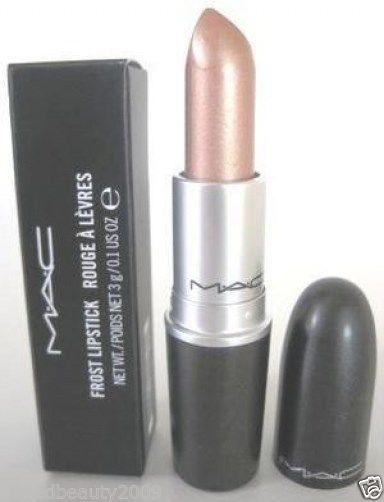 "Mac Frost Lipstick ""Gel"" Soft Peachy Metalllic Beige 100 Authentic Mac BNIB | eBay"