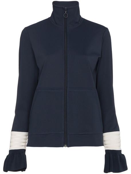 jacket women spandex blue