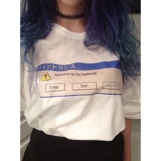shirt grunge anime style