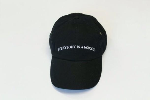 hat black hat t-shirt