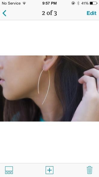 jewels hoop earrings boho jewelry accessories minimalist jewelry style free people bohemian blogger instagram fashionista