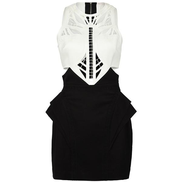 Sass & Bide Shoulder To Shoulder Embroidered & Peplum Dress - Polyvore