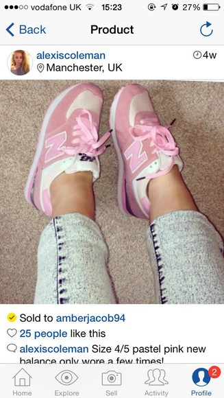 shoes sneakers trainers style girly new balance pastel pink new balance sneakers