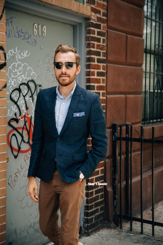 stay classic blogger jacket shirt shoes pants sunglasses