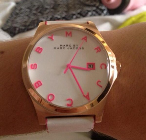 marc by marc jacobs marc jacobs jewels watch pink gold henry watch marc jacobs henry watch
