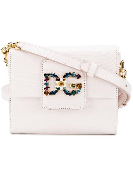 Dolce & Gabbana mini women bag shoulder bag leather nude