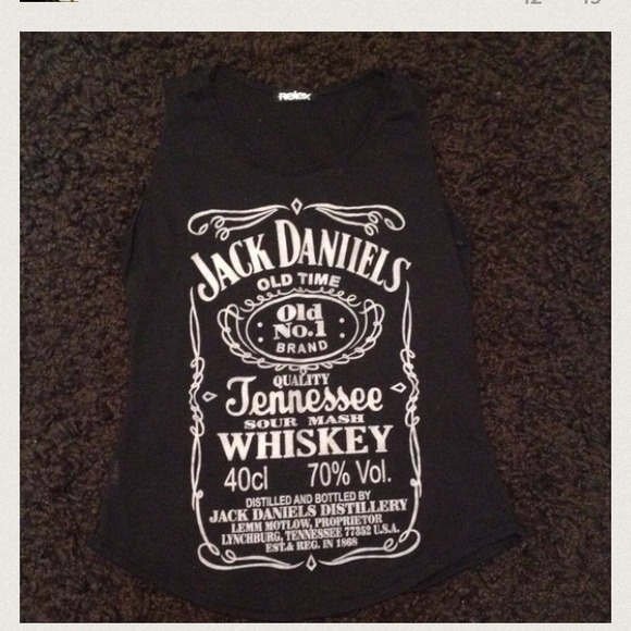 Jack Daniels tank s/m S from Brianna's closet on Poshmark