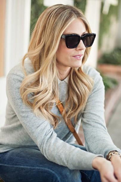 devon rachel sweater t-shirt jeans shoes jewels bag sunglasses