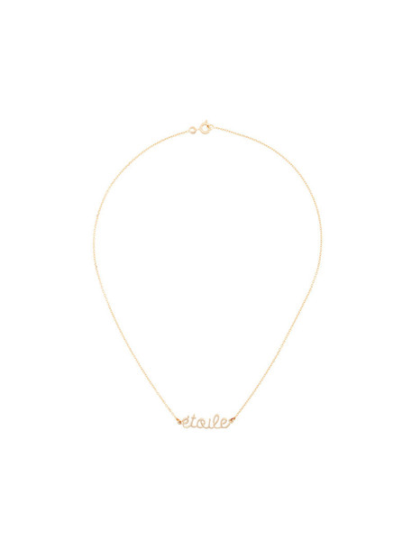 Delphine Pariente women necklace silver grey metallic jewels