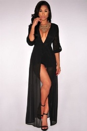 romper,dress,black,summer,romper suit,cheeky,chic,classy,pretty,chiffon,lace,elegant,beach,summer outfits,all black everything