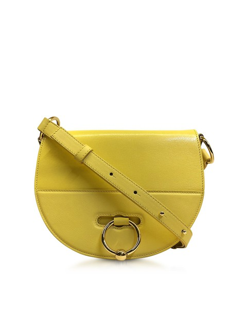 J.W. Anderson Jw Anderson Flap Top Leather Latch Bag W/shoulder Strap