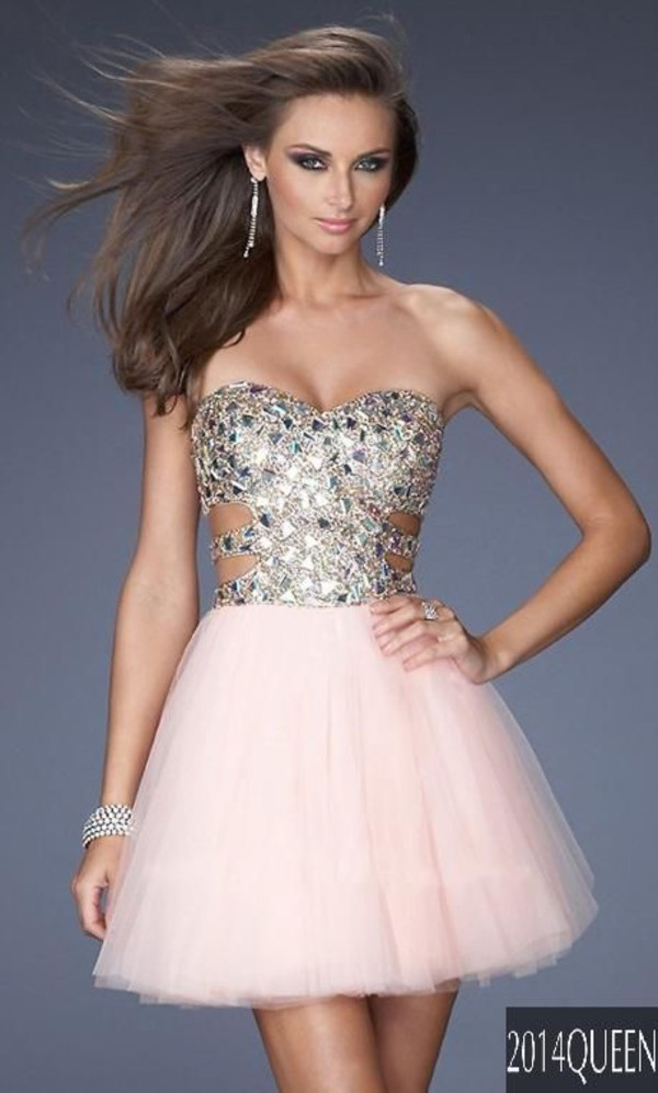 dress short prom dress nude homecoming dress homecoming glitter prom dress formal dress sparkly dress silver short prom