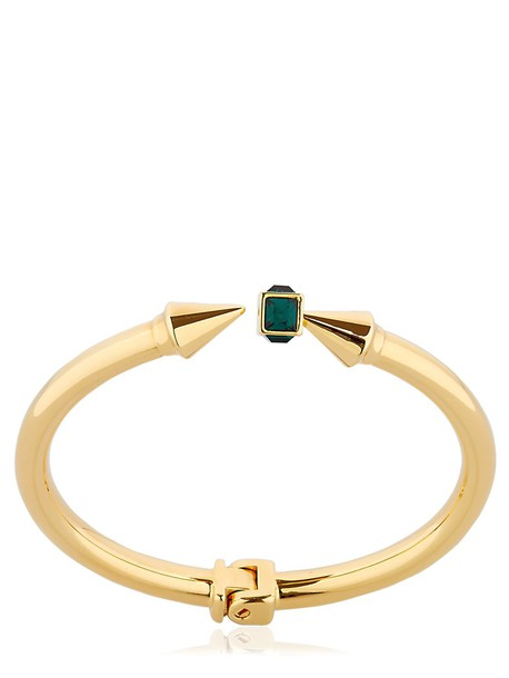 VITA FEDE Mini Titan Gemma Bracelet in gold / green