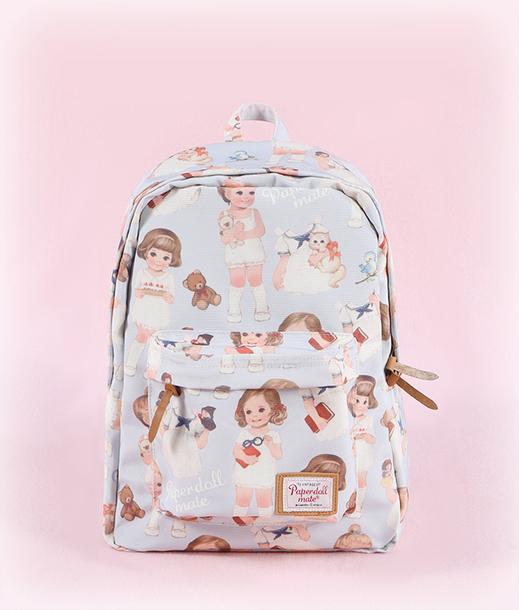 bag kawaii backpack kawaii bag pastel pastel bag cult party kei