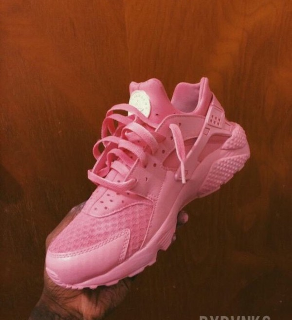 new style db328 af850 Nike Huarache Rosa Pastello
