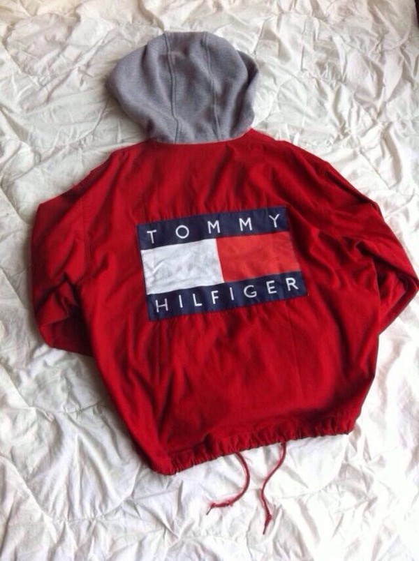 jacket tommy hilfiger jacket tommy hilfiger hoodie red sweater sweater shirt