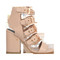 Kloe sandal with rose gold buckles