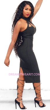 dress,dream it wear it,clothes,black,black dress,halter neck,halter dress,strappy,strappy dress,midi,midi dress,party dress,sexy party dresses,bodycon,bodycon dress,sexy,sexy dress,party outfits,summer dress,summer outfits,spring dress,spring outfits,pool party,classy,classy dress,elegant,elegant dress,cocktail,cocktail dress,little black dress,date outfit,birthday dress,cute,cute dress,girly,girly dress,celebrity style,celebrity,celebstyle for less,blogger,romantic,romantic dress,romantic summer dress,wedding dress,wedding guest,clubwear,club dress,graduation dress,prom,prom dress,black prom dress,short prom dress,dope