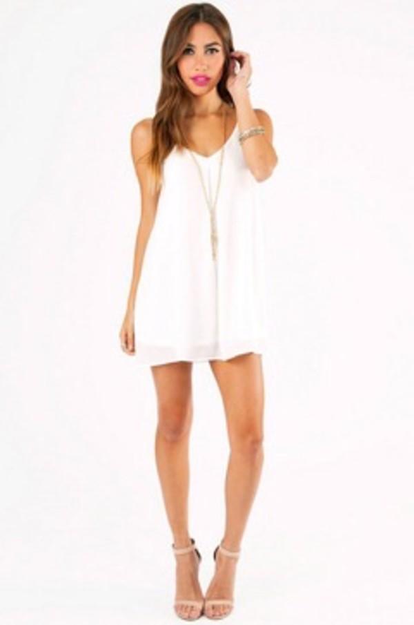 Flowy Strapless Dress - Shop for Flowy Strapless Dress on Wheretoget