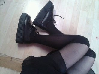 shoes swag yolo hipster tumblr love lol creepers
