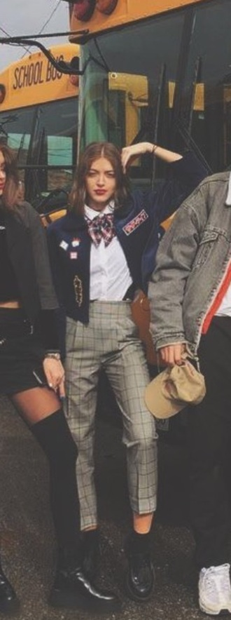 blouse blouse pants jacket  shoes scarve