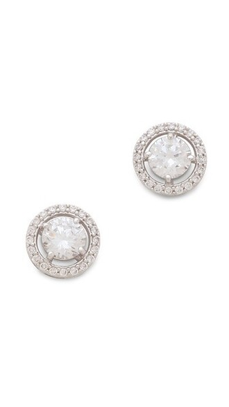 clear earrings stud earrings jewels