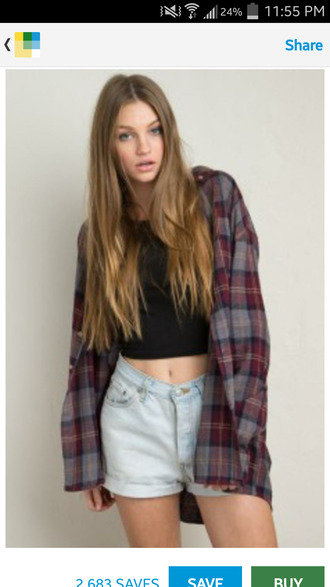 jacket flannel plaid flannel plaid shirt oversized flannel grunge shirt