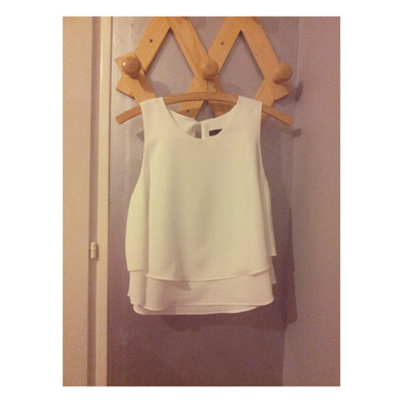 tank top top white summer top zara zara top white tank top white tanktop white top trafaluc, white tank top summer cute tanned summer outfits summer outfits clothes