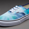 Boys shoes - vans authentic - (tie dye) navy / turquoise