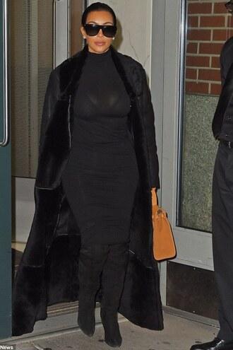 skirt pencil skirt fall outfits kim kardashian boots black jewels