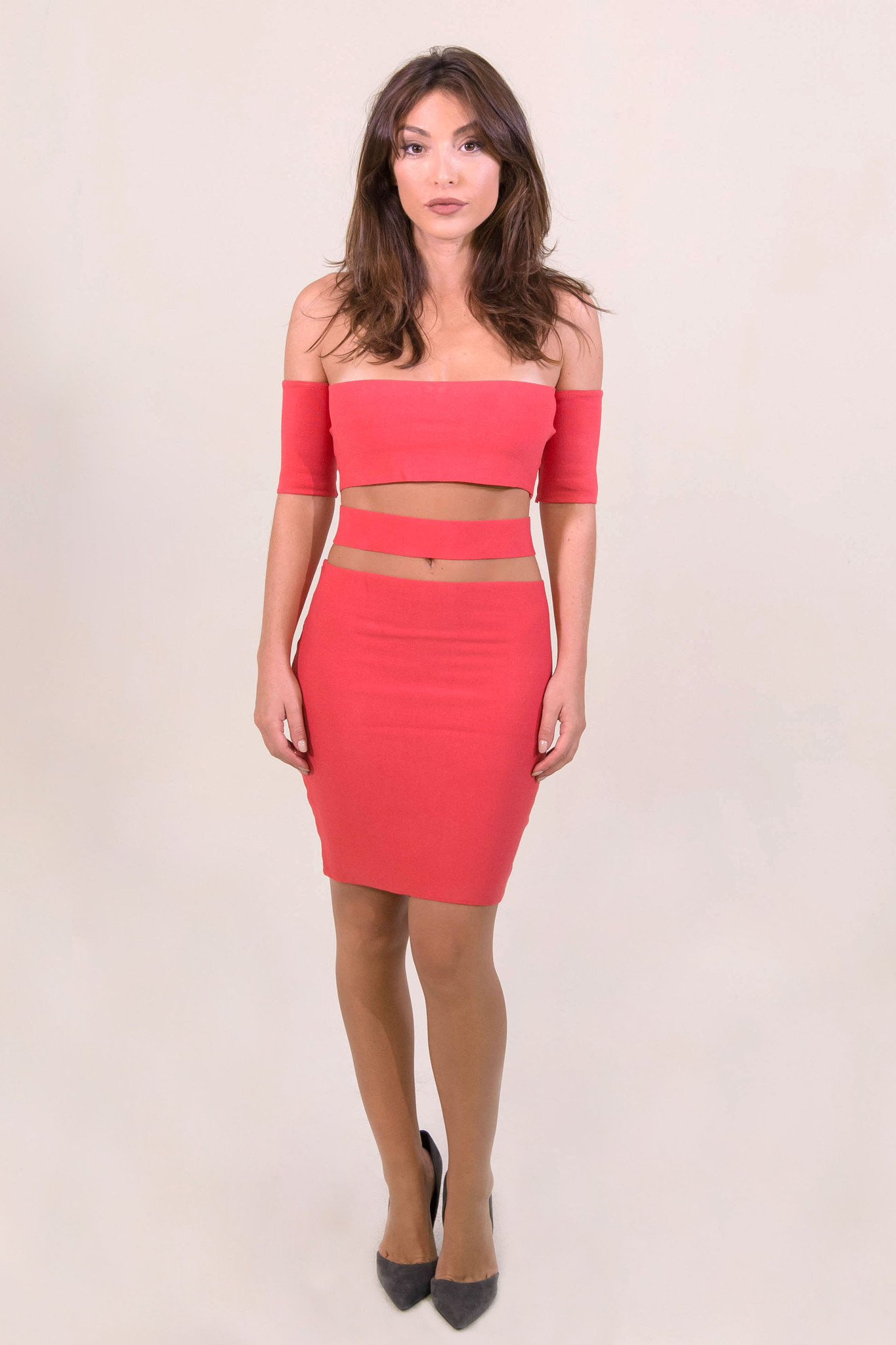 Rehab Can't Stop Me Dress - Red