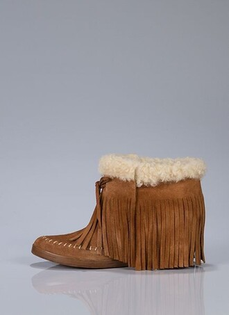 shoes fringe shoes moccasins