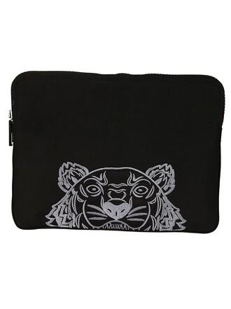 tiger bag clutch black