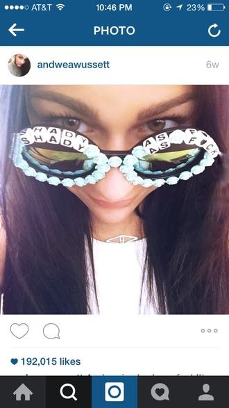 sunglasses cute andweawussett black sunglasses big round sunglasses