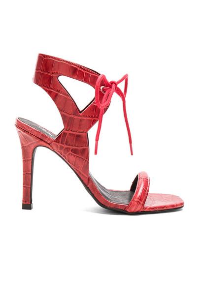Sol Sana Denver Heel in red