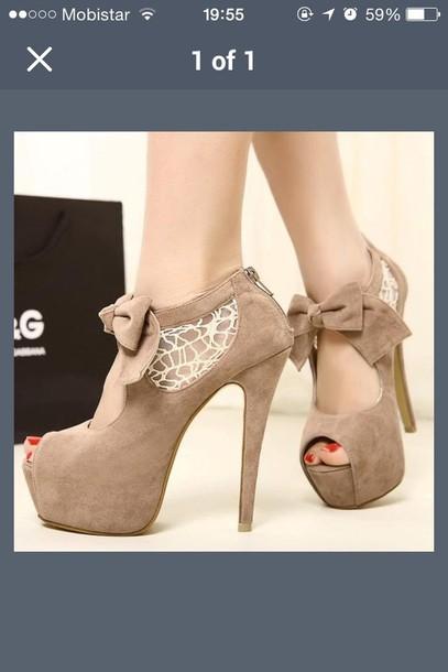 shoes nude beige tan laser cut heels shoes peep toe lace stiletto
