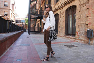 my daily style blogger pants blouse bag shoes