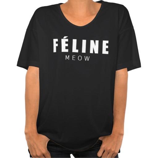FÉLINE TEES from Zazzle.com