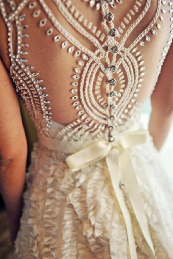 dress prom beaded wedding fancy girl