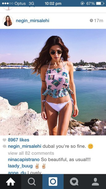 shirt negin dubai beach