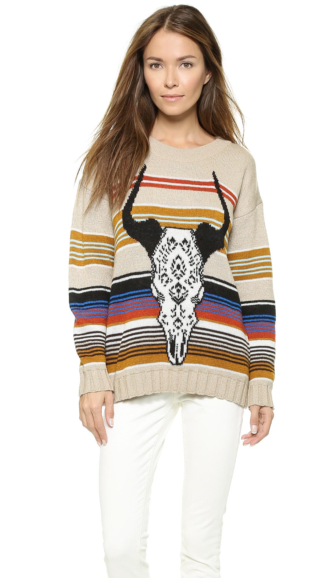 Jen's pirate booty reversible desert queen sweater