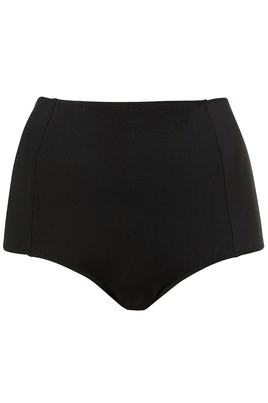 Black High Waisted Bikini Pants - Swimwear - Clothing - Topshop USA on Wanelo