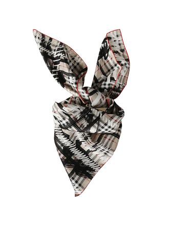 striped scarf scarf multicolor