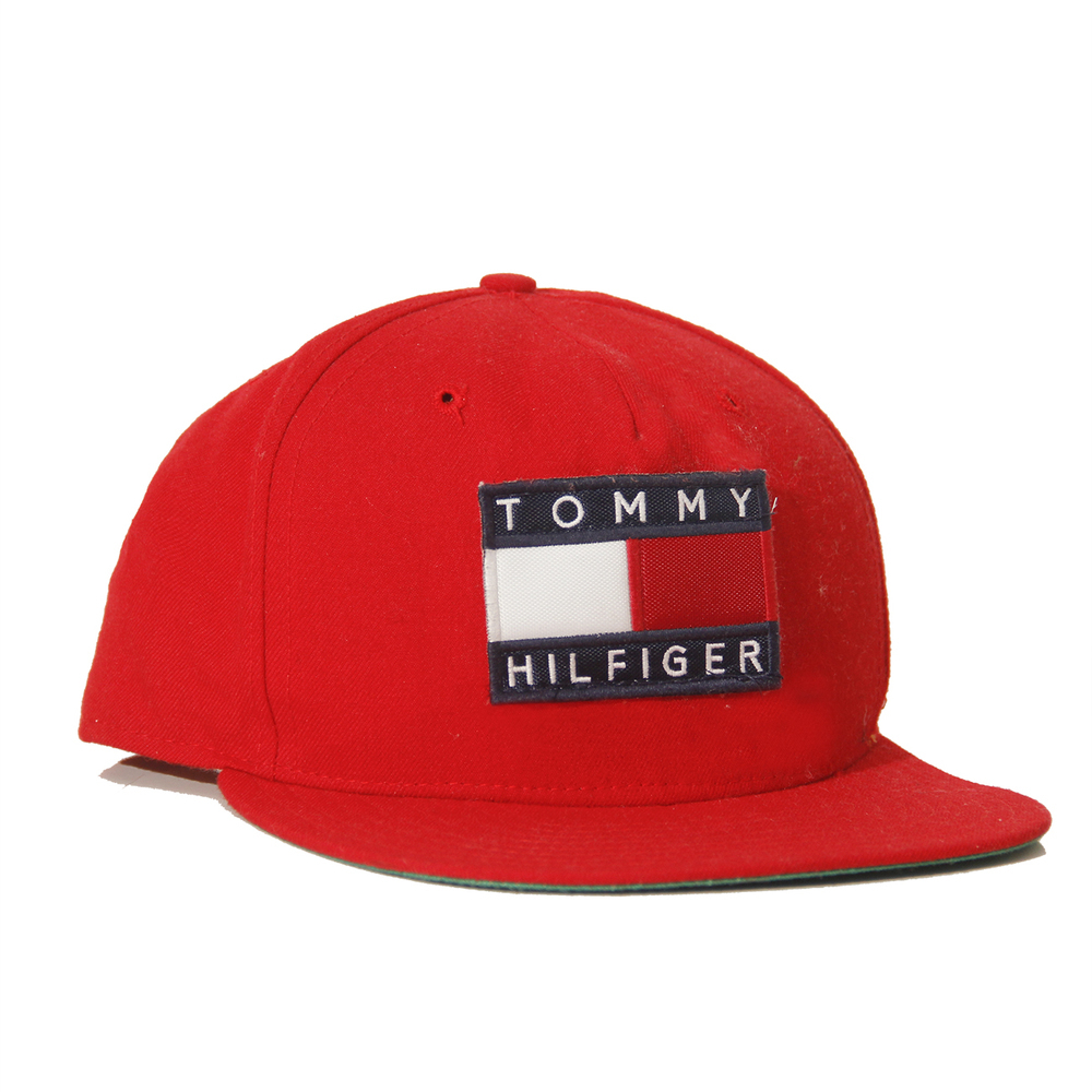 54c903e23f029 Tommy Hilfiger Hot Red Snapback