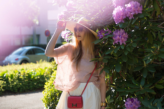 fashion gamble top skirt shoes sunglasses hat bag jewels