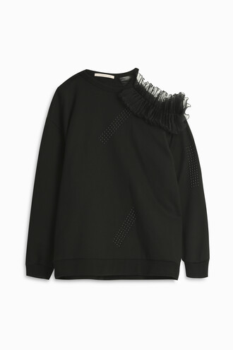 sweatshirt black sweater