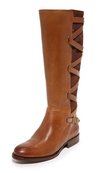 tall boots wood strappy boots shoes